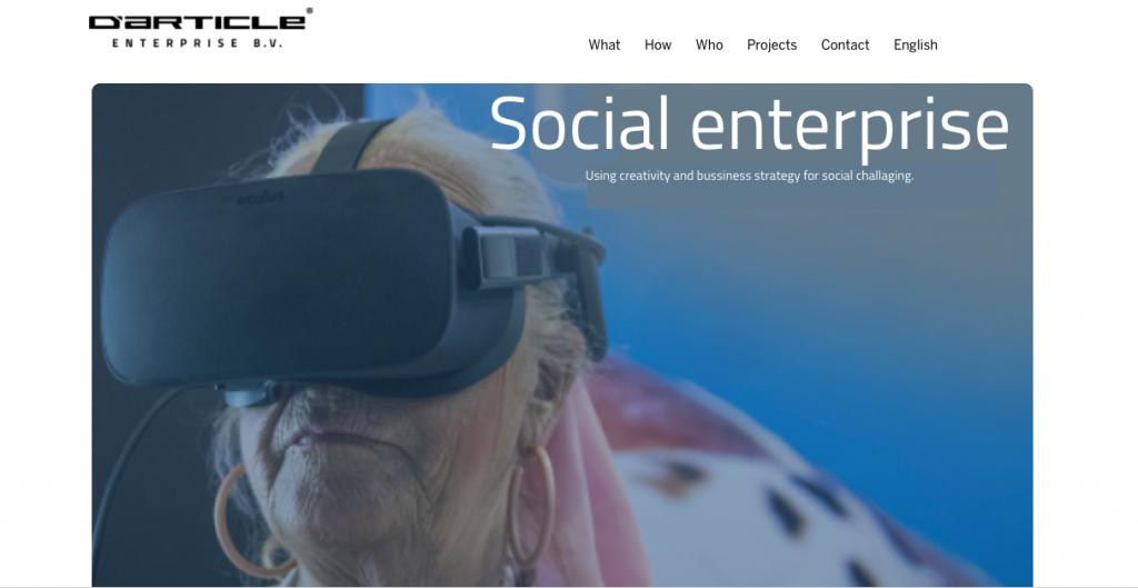 Mooie betaalbare websites Website D'article